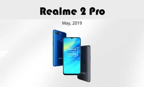 Realme 2 Pro Color OS 6 update Download : RMX1801EX_11.A.21