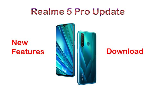 realme 5 pro update download