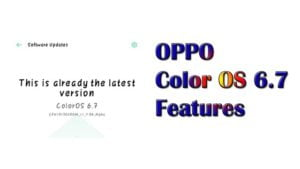 oppo color os 6.7 update features and launch date in india