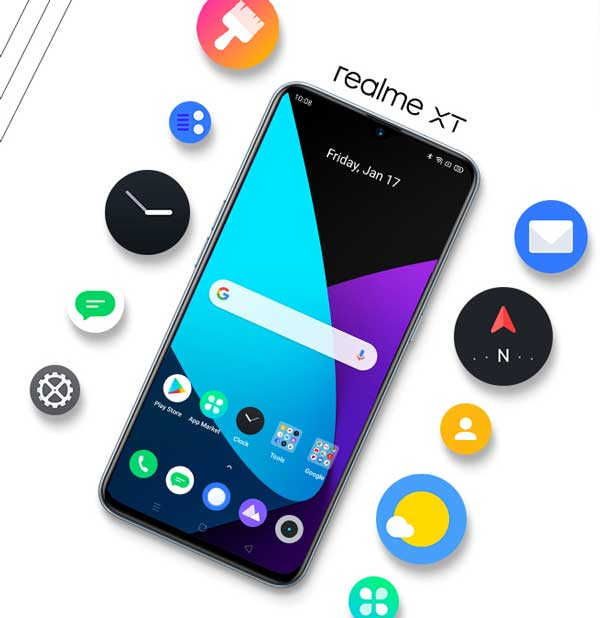 realme ui update for realme xt